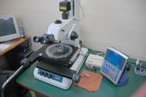 超精密な測定機器を備え、高度な品質保証体制でお応えいたします。